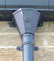 Cast Aluminium Gutter