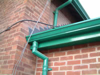 Extruded Aluminium Gutter